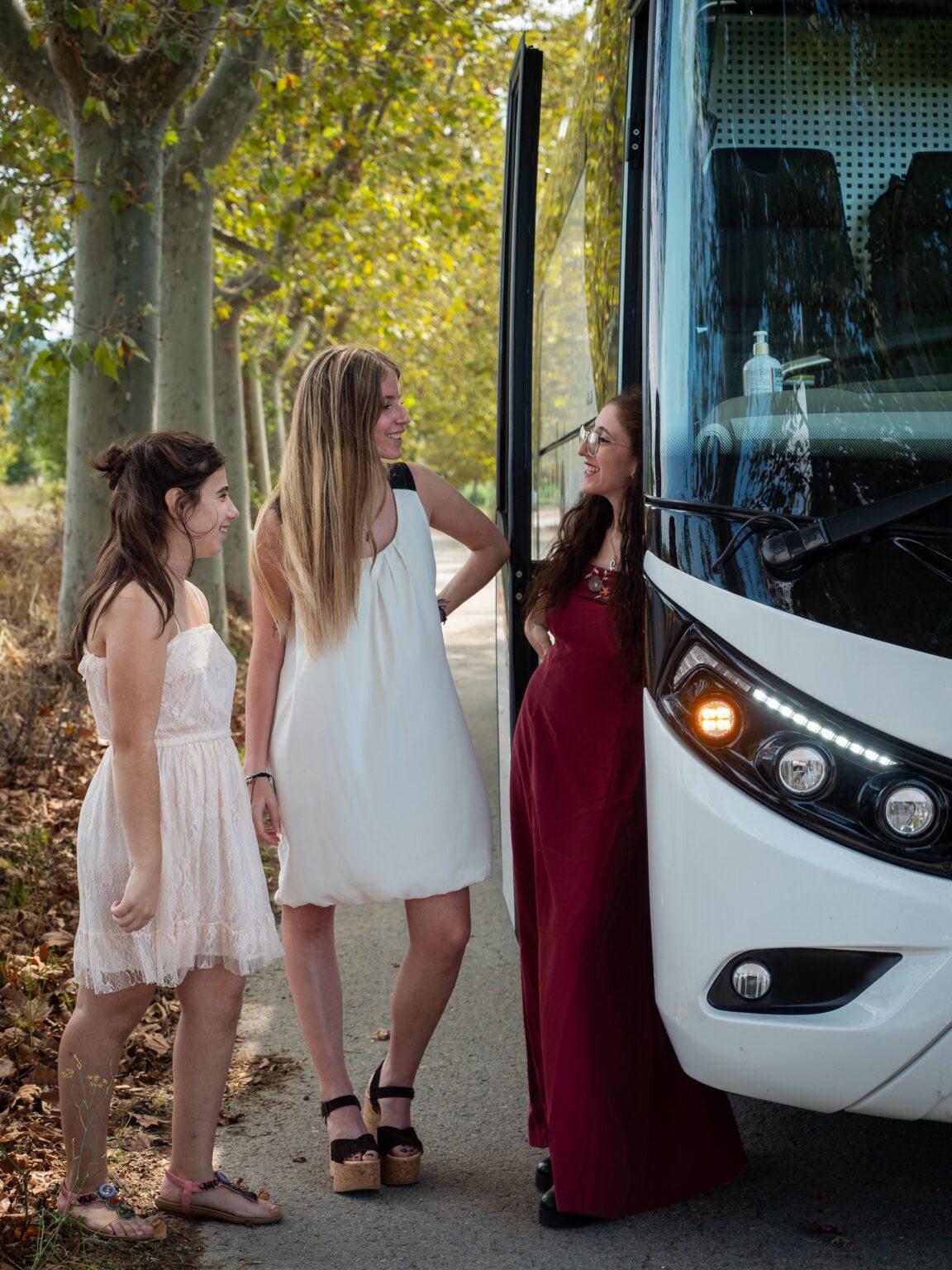 Lloguer autocar casament Barcelona