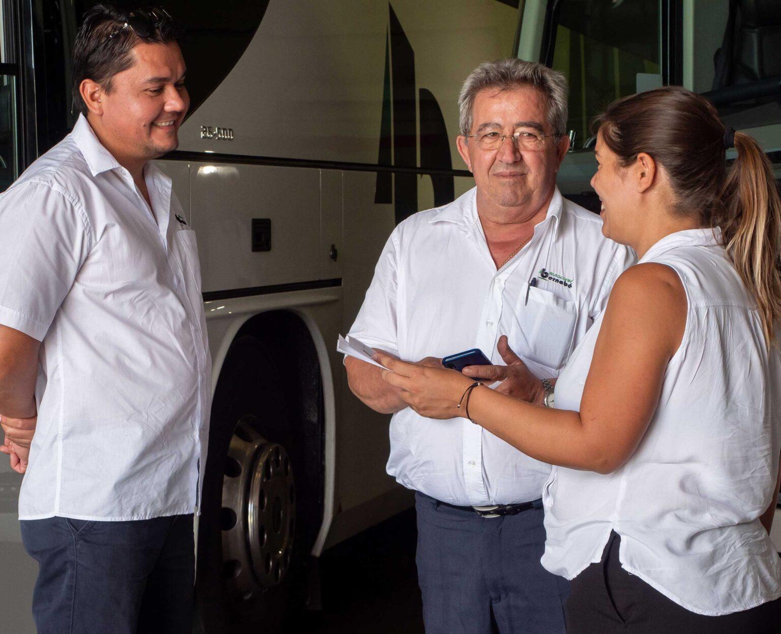 Equipo autocares Bernabe Barcelona
