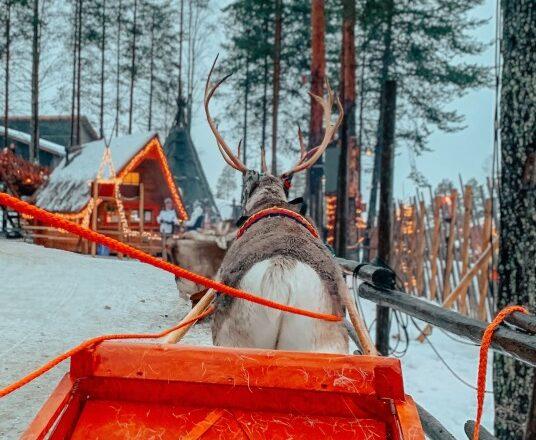 ¿Qué pasaría si Papá Noel entregara todos los regalos en autocar en lugar de en trineo con renos?